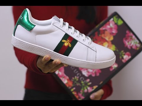 ca328da65be Brand Ace Embroidered Sneaker Low Top (White) Review Unboxing from  aj23shoes.net - YouTube