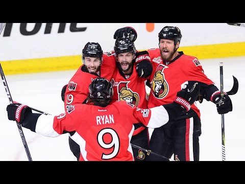Senators burst out the gate, crush Penguins in Game 3