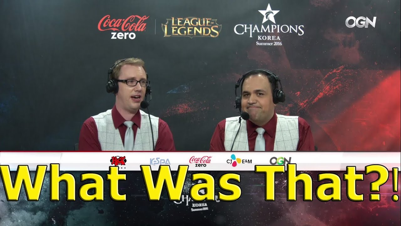 DoA and PapaSmithy get left out during LCK broadcast