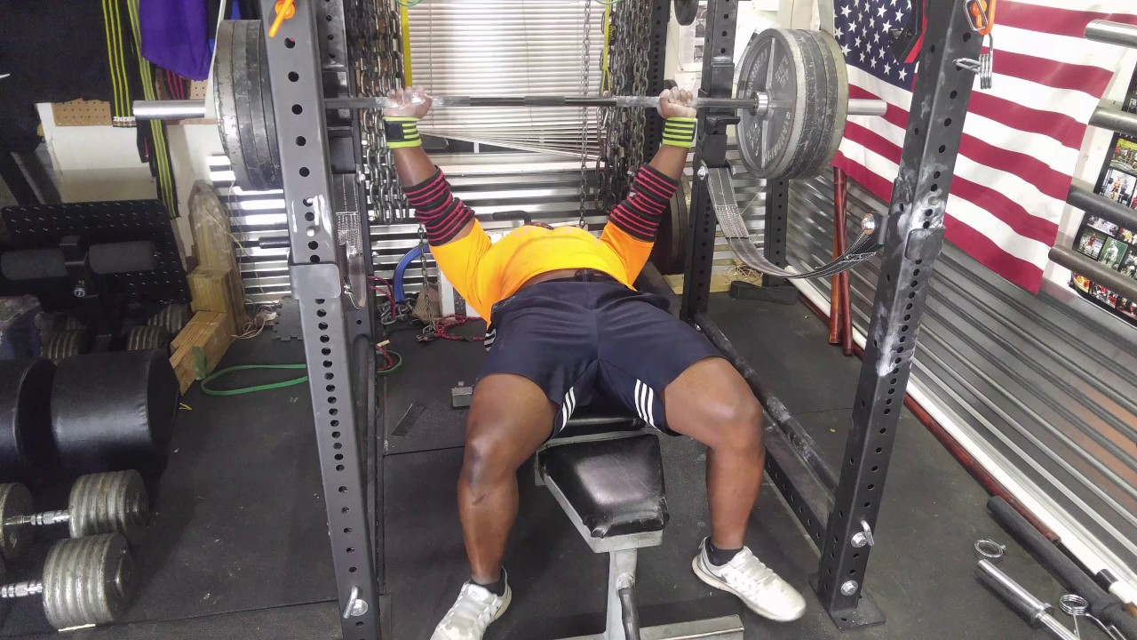 The road to a xx bench press garage gym training youtube