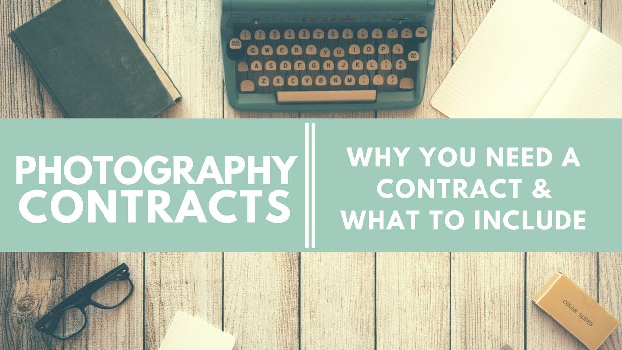 Photography Contracts - Why you need a contract & what to include -  Zenfolio follow the light!