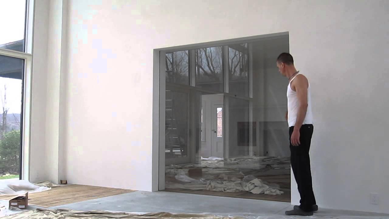 Custom Pocket Door Youtube