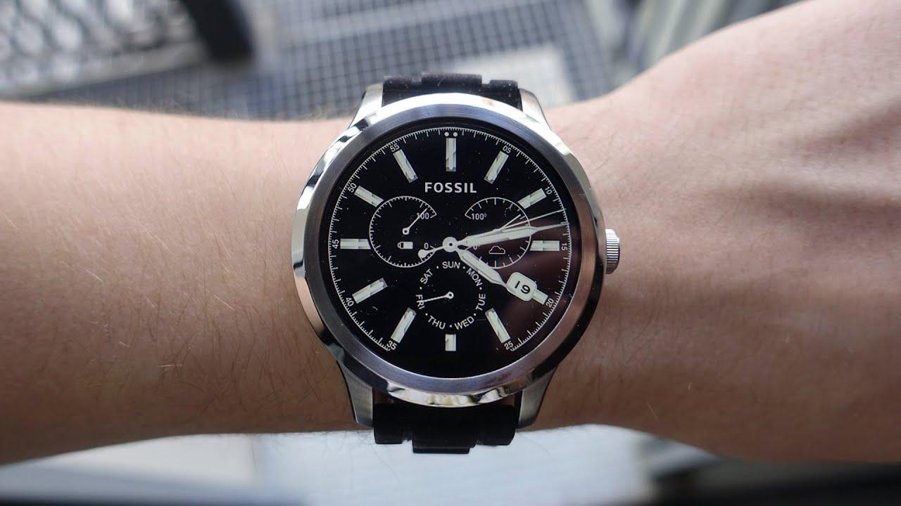 Fossil FS4656 видео обзор - YouTube