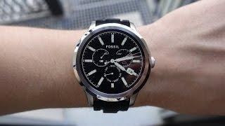 Обзор Fossil Q Founder: премиум-часы на Android Wear