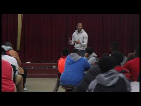 Quitman County Middle School #BlackMaleChallenge Speaker Series