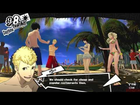 Persona 5 - English Version - Hawaii Trip