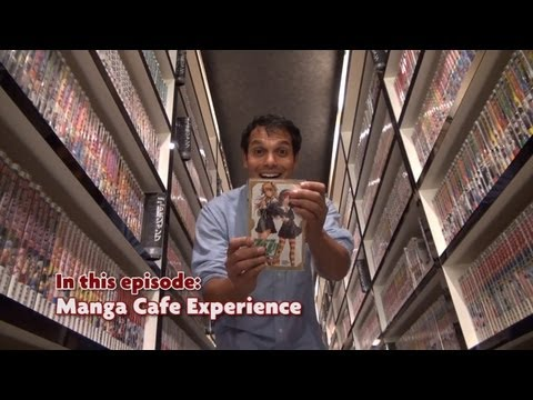 The Manga Cafe Experience ★ ONLY in JAPAN
