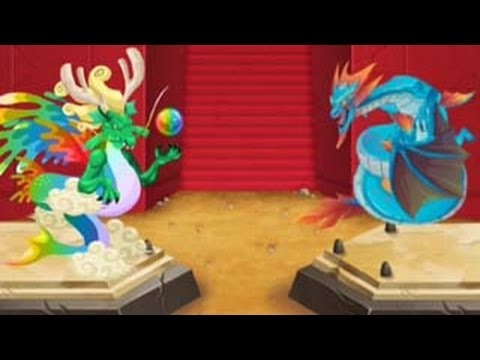 COMBAT WAR Tournament 4 Legendary Dragon VS Red Woods Leviathan Panzer Dragon in Dragon City
