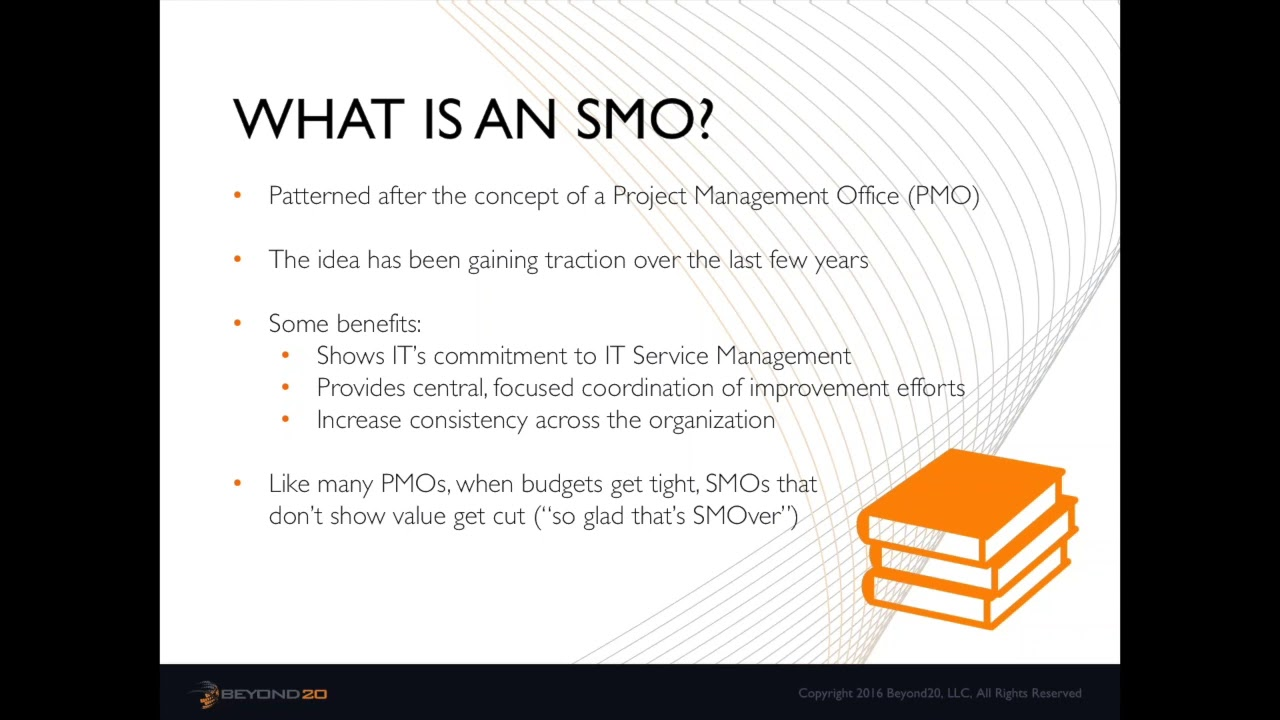 Service Management Office  The What  Why  And How