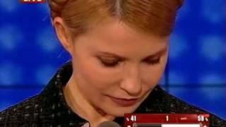 Как Богословская опустила Тимошенко (23.04.2010)