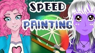 Pony girls collab [Easy Pain Tool SAI speed painting]