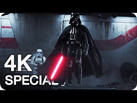 STAR WARS: ROGUE ONE Blu-Ray Clips & Special Features (2017) 4K Ultra HD