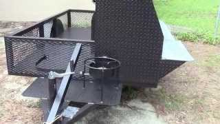 Pro Competition Bbq Smoker Grill Trailers For Sale Rentals  - Bbq Catering Events Atlanta Georgia