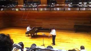 Angel Hernández Lovera - Capricho para Corno Ingles y Piano