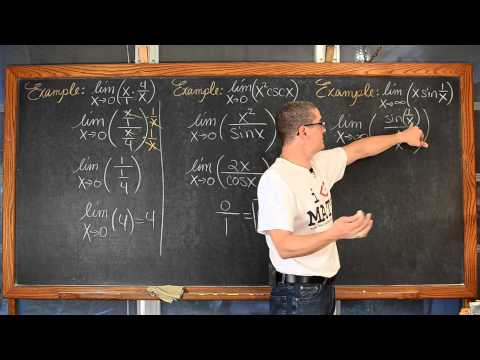 L'Hospital's Rule Lesson with 8 Examples