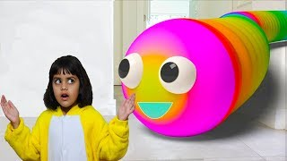 Cutie and Ashu Pretend Play Funny Story for Children - Katy Cutie Show