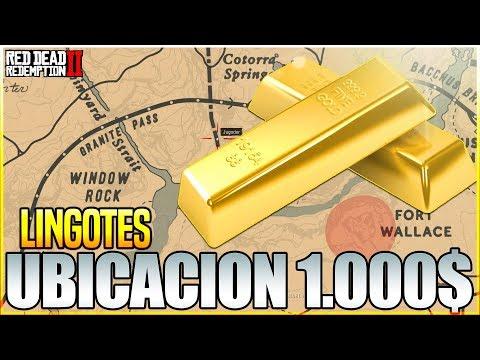 ¡ SIN TRUCOS ! NUEVA LOCALIZACION DE LINGOTES EN Red Dead Redemption 2 ¡ GANAR DINERO FACIL !