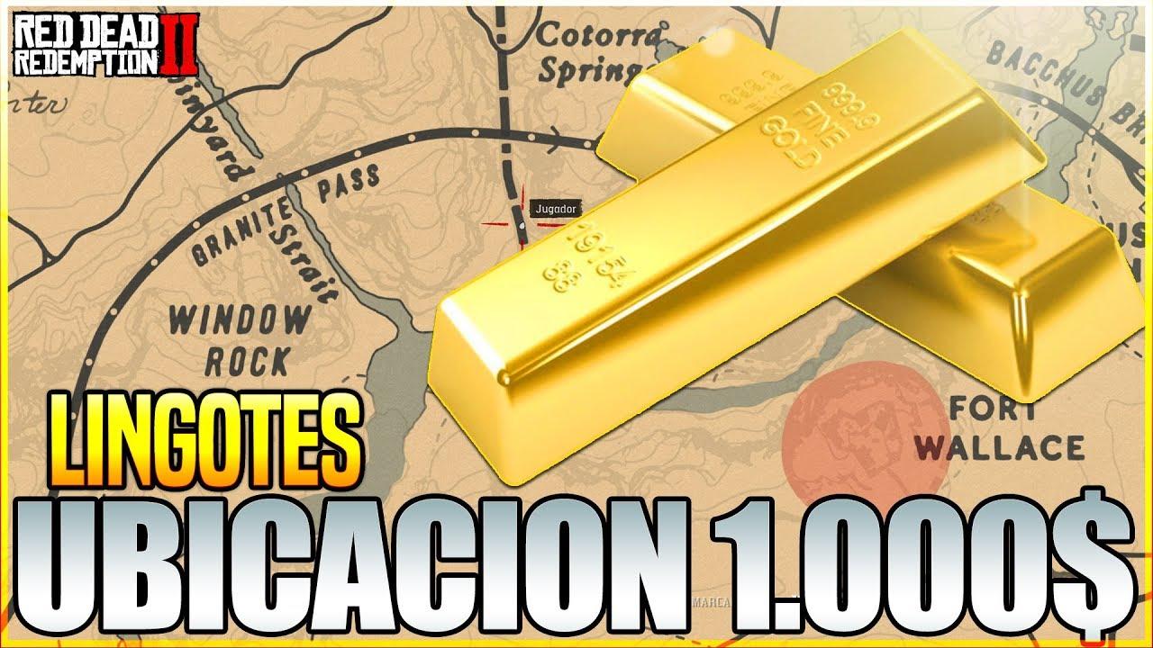 Sin Trucos Nueva Localizacion De Lingotes En Red Dead Redemption 2 Ganar Dinero Facil Youtube