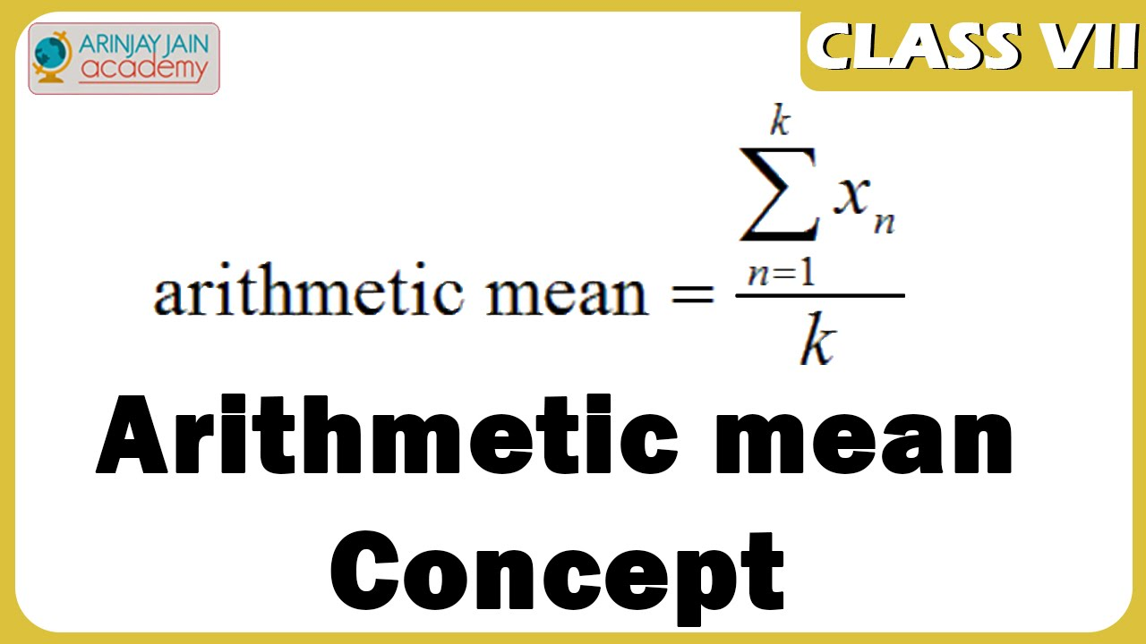 arithmetic mean and marks Definitions of mean and median in mathematics and statistics, the mean or the arithmetic mean of a list of numbers is the sum of the entire list divided by the number of items in the list.