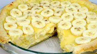 Banana Cream Pie - Video Recipe