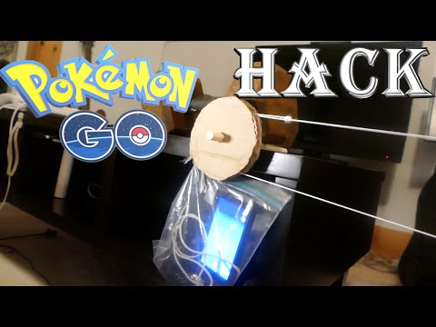 Pokemon Go HACK! Get Unlimited Steps With This Invention!!