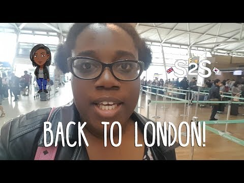 S2S Life | Back to London! [Visiting the UK After a Year in Korea!]