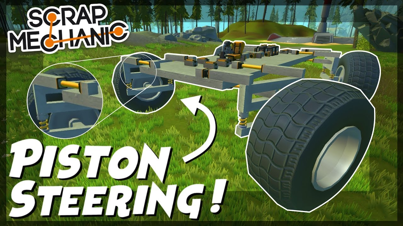 Piston Steering For Wheels S Mechanic Creations Episode 85