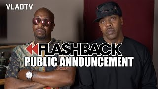 Public Announcement on Bringing Sparkle to R Kelly After Aaliyah Incident (Flashback)