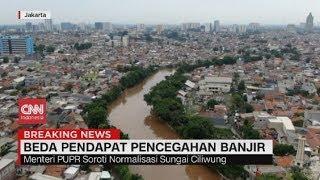 Beda Pendapat Anies & Basuki Soal Pencegahan Banjir di Ibu Kota