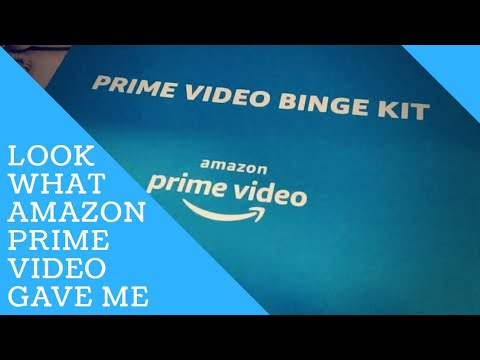 LOOK WHAT AMAZON PRIME VIDEO GAVE ME! | Amazon Prime Video | The Office |  Michael Scott