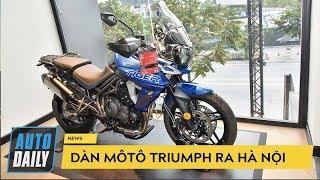 Dàn môtô Triumph đổ bộ ra Hà Nội |AUTODAILY.VN|