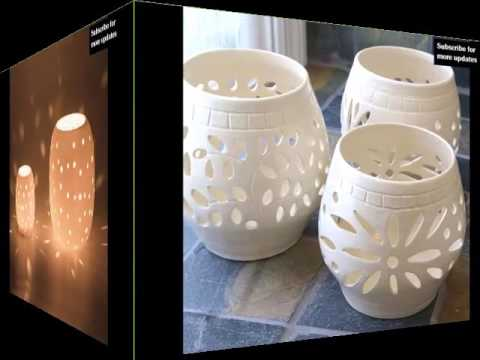 Ceramic Candle Holder Designs Picture Collection Of Ceramic Art Model Decor Options