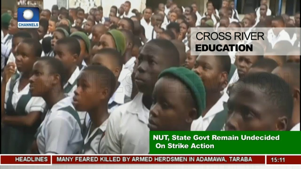 Cross River Govt., NUT Remain Undecided On Strike Action  News Across Nigeria 