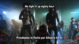 LMFAO - Champagne Showers HD Official Video Subtitulado Español English Lyrics