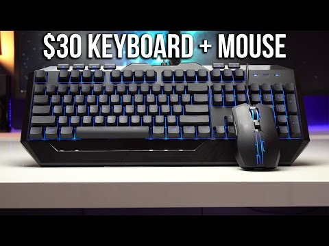 $30 Gaming Keyboard & Mouse Combo Any Good? CM Devastator II
