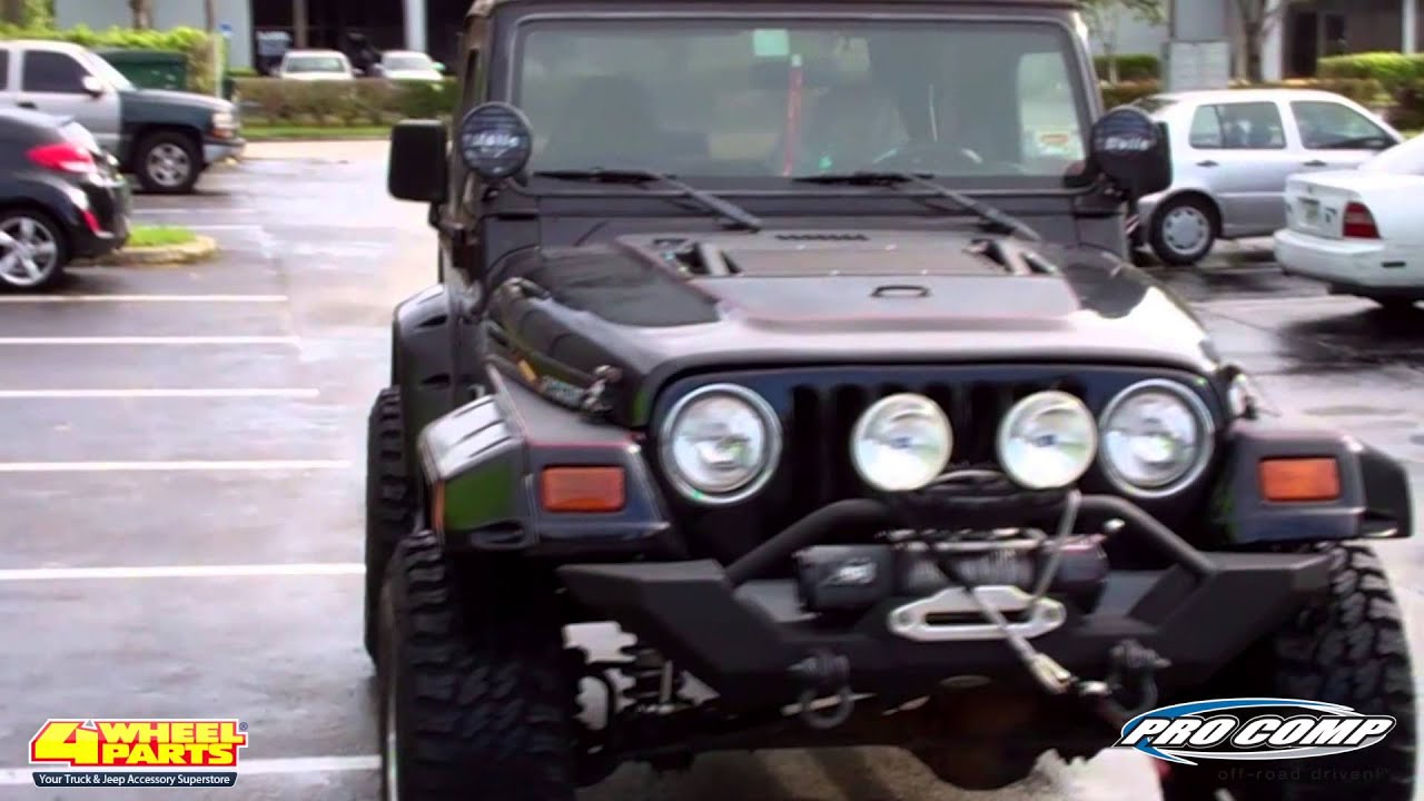 Jeep Wrangler Tj Build >> JEEP TJ WRANGLER 1997 BUILD BY 4 WHEEL PARTS MIAMI FLORIDA ...