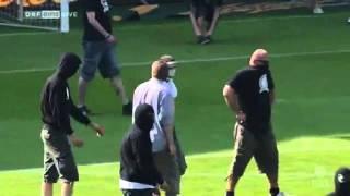 Geplanter Rapid-Platzsturm beim Wiener Derby - Spielabbruch (22.05.2011) [HD]
