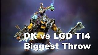 DK vs LGD Biggest Throw Ever ti4 Dota 2