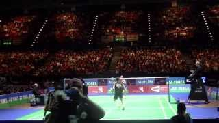 all england 2014 action only hd sf lee chong wei vs son wan ho 2nd set hd low camera