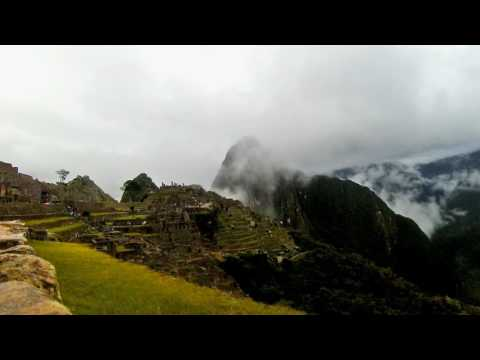 Shot on Qlippie / Peru timelapse Machu Picchu