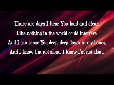 Josh Wilson - Faith is Not a Feeling - (with lyrics)