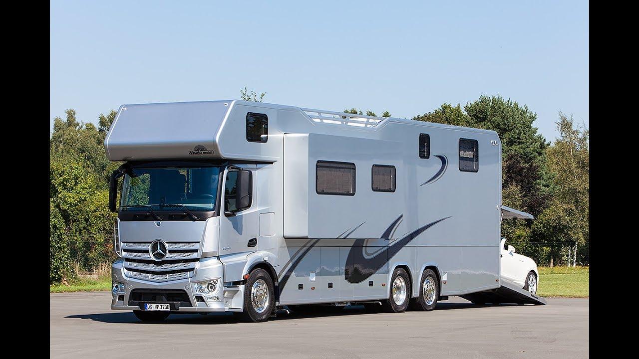 5 des plus beaux et des plus luxueux camping cars pour voyager nomade youtube. Black Bedroom Furniture Sets. Home Design Ideas