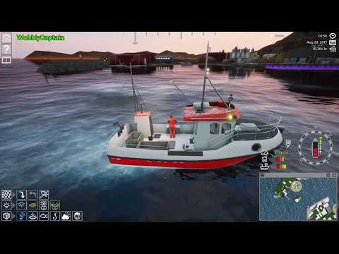 Lets Play Fishing : Barents Sea   Whales Fish & The Queen Victoria  