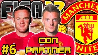 FIFA 17 Manchester United Modo Carrera #6 | PRIMER TITULO EN JUEGO | CON PARTNER