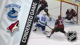 03/11/18 Condensed Game: Canucks @ Coyotes