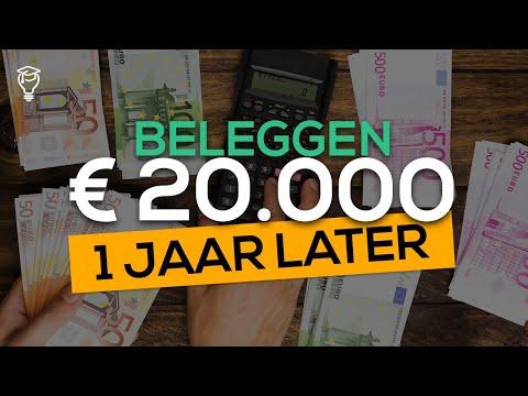Beleggen: 20.000 euro – 1 Jaar Later