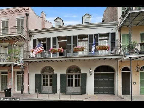PICTURED: Brad Pitt and Angelina Jolie's lavish New Orleans mansion... as couple 'put property