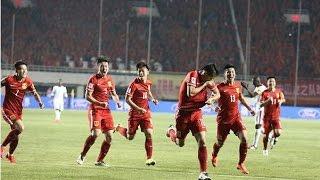 【世预赛】中国 2 - 0 卡塔尔 国足晋级亚洲区12强 黄博文武磊建功 | China 2 - 0 Qatar 【Full HD Highlights】
