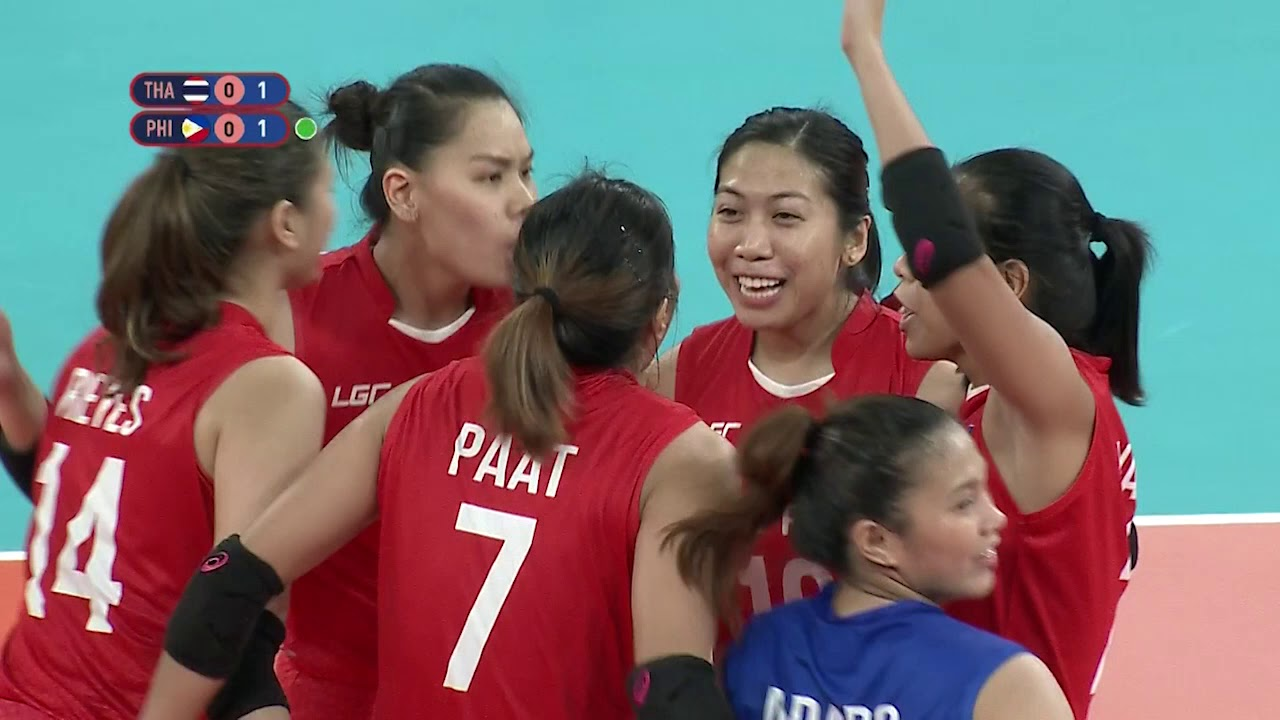 Download SEA Games 2019: Philippines VS Thailand in Women's Division | Volleyball