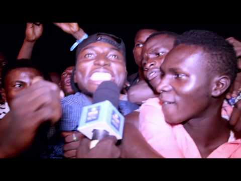 Video: May D Rides On Stage On A Board - #IbadanRocks